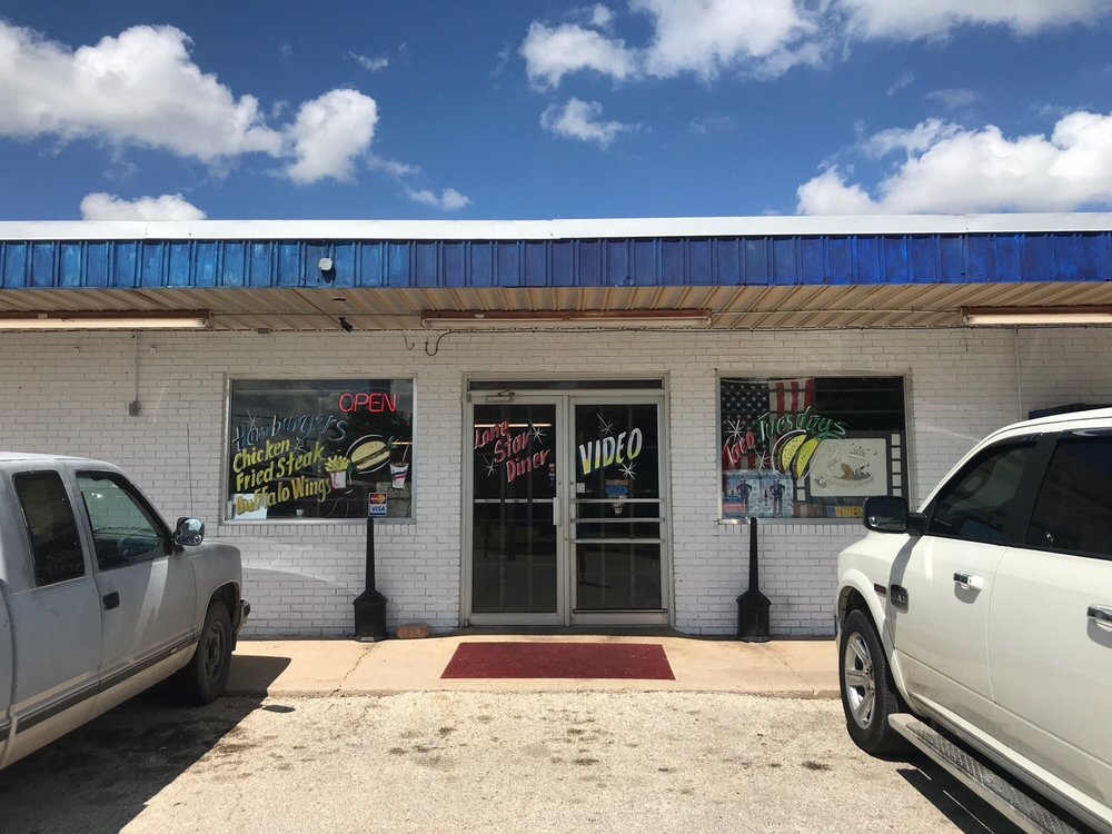 Lone Star Diner & Video: 200 Tinkle St, Winters, TX