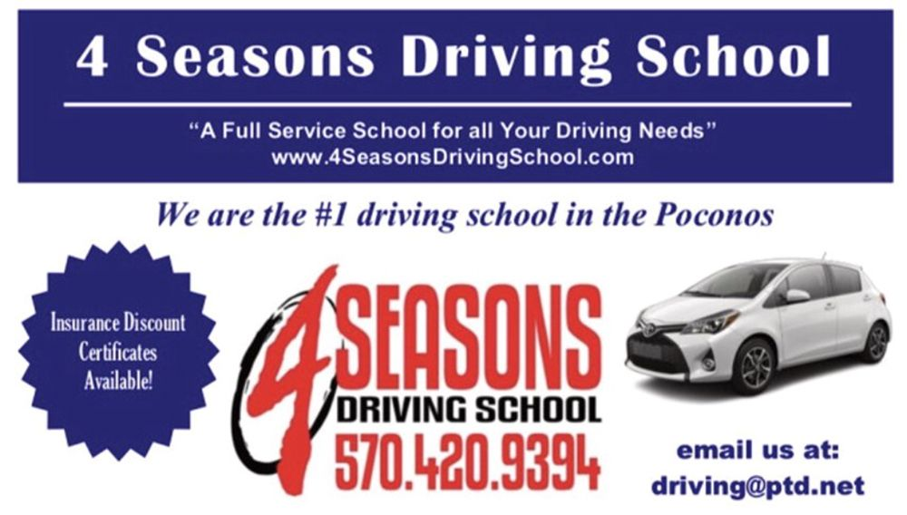 4 Seasons Driving School: Stroudsburg, PA