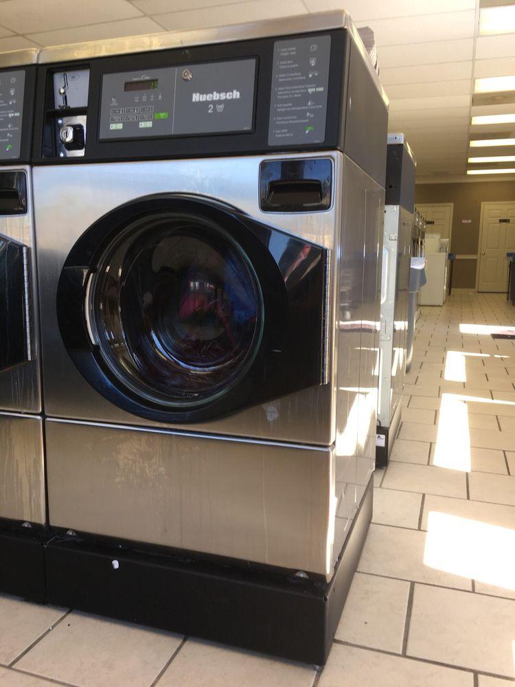 Aqua Wash Coin Laundry: 1604 N Reynolds Rd, Bryant, AR