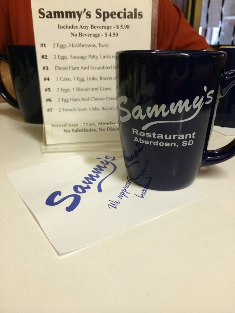Sammy's Restaurant & Omlette Shop: 212 S Main St, Aberdeen, SD