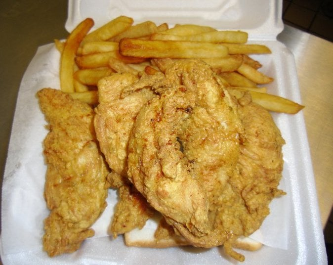 Chicken tenders yelp for Sharks fish and chicken little rock