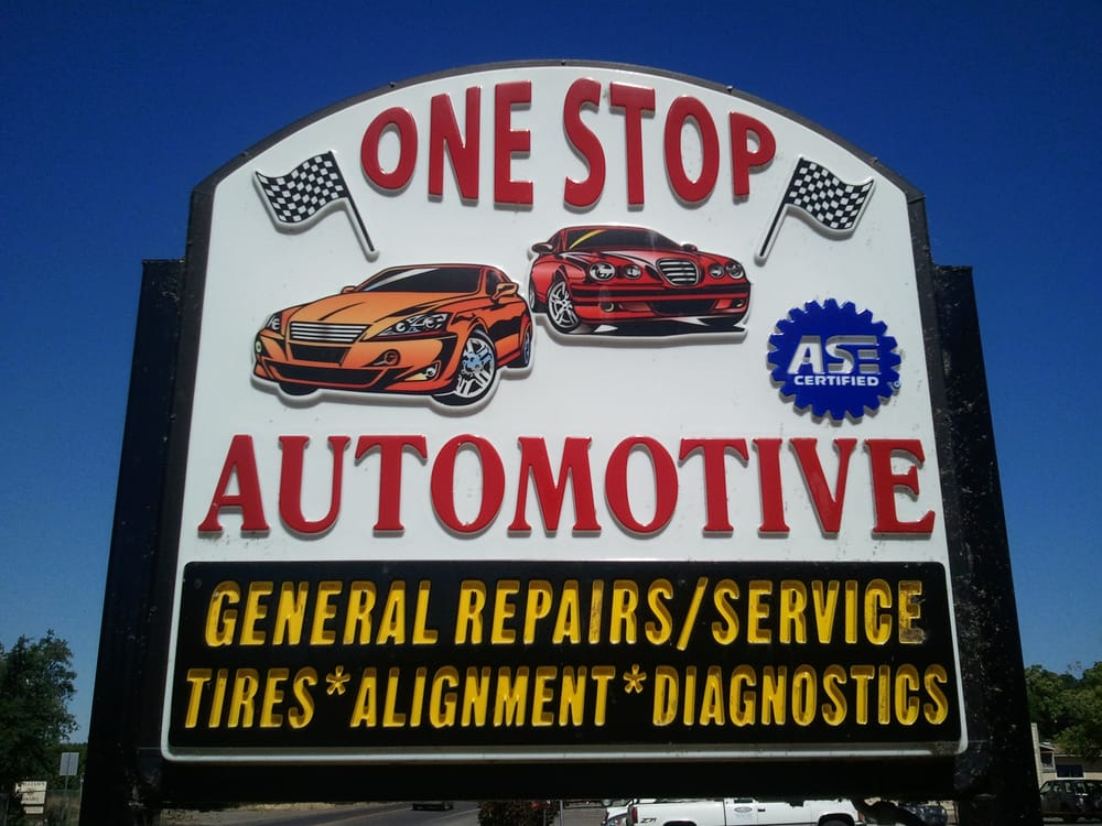 One Stop Automotive: 14570 Lakeshore Dr, Clearlake, CA
