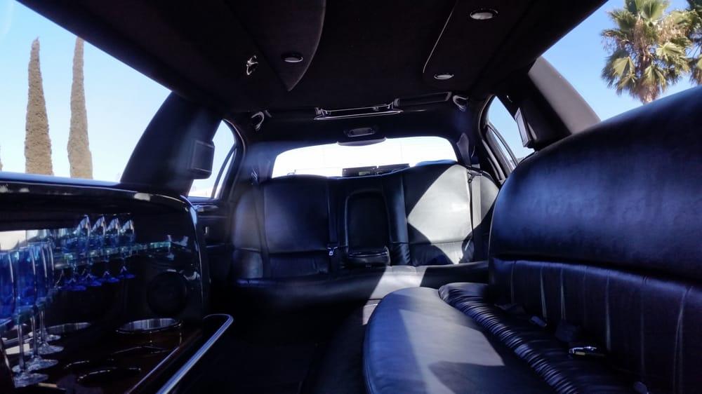 Black Lincoln Town Car Limo Interior Nice Comfortable Love The