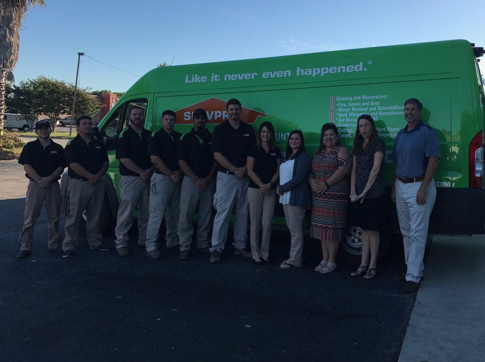 SERVPRO of Guadalupe & Gonzales Counties: 971 Schriewer St, Seguin, TX