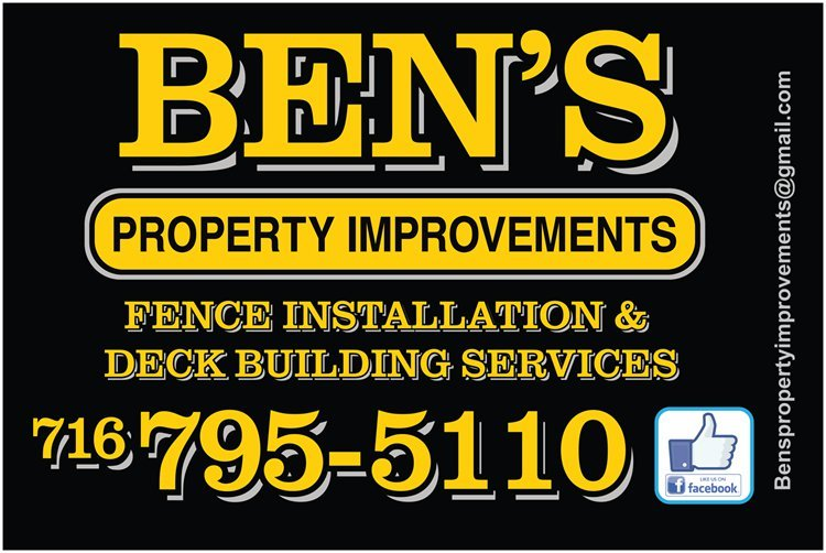 Ben's Property Improvements: Barker, NY