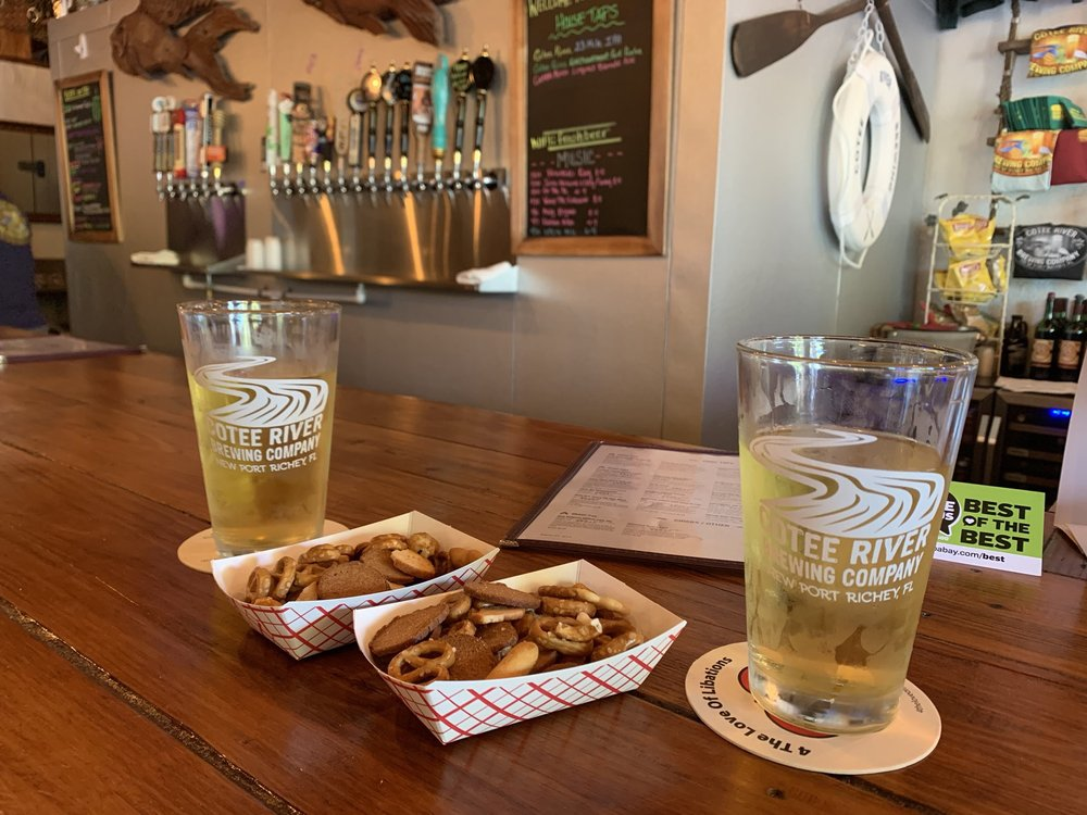 Cotee River Brewing: 5760 Main St, New Port Richey, FL
