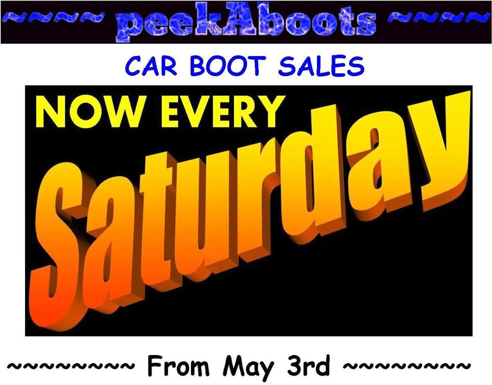 Car Boot Sales In Northamptonshire