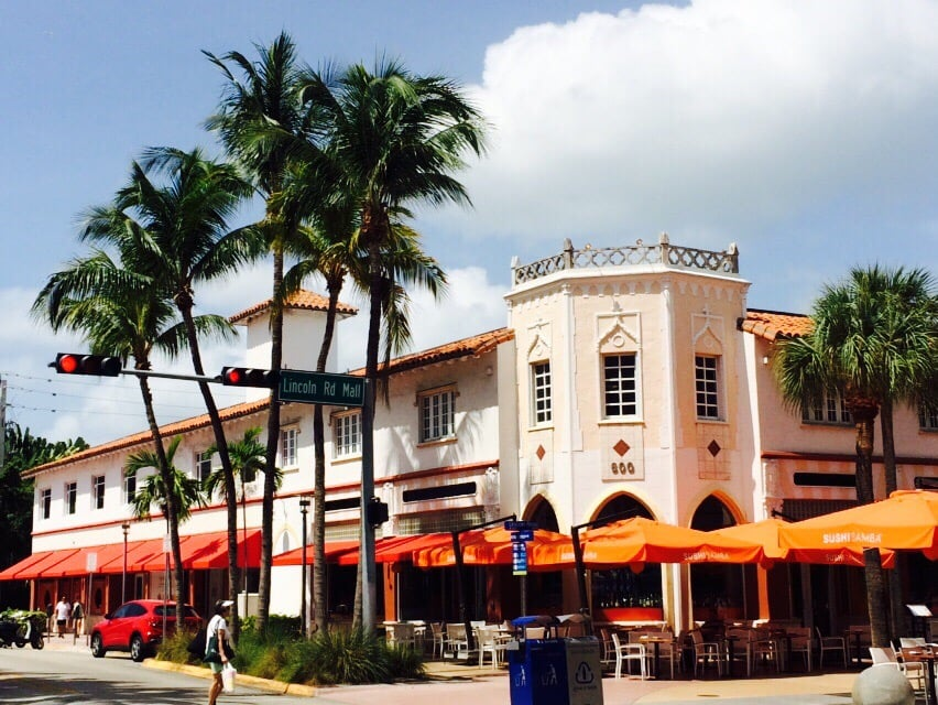 Photo Of Lincoln Road Mall Miami Beach Fl United States