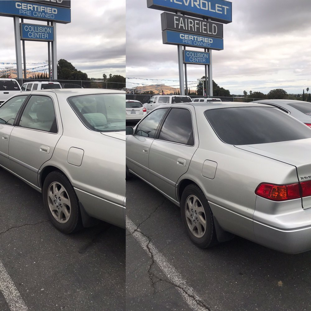 Photo Of Tint Masters Fairfield Ca United States 2001 Toyota Camry 5