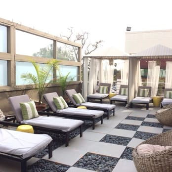 Photo Of Dtox Day Spa   Encino, CA, United States. Outdoor Lounge Area