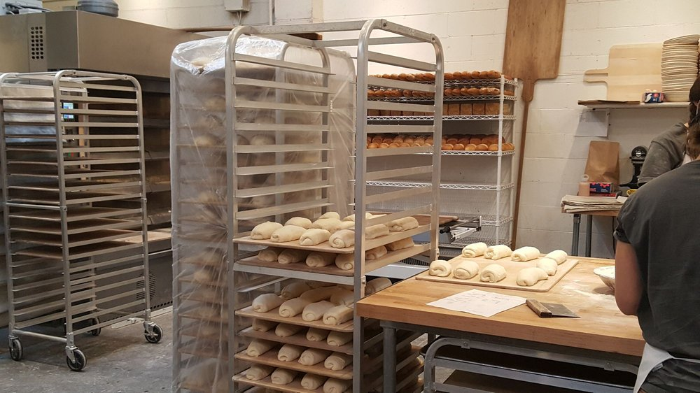 More products proofing before baking (11/21/17) - Yelp