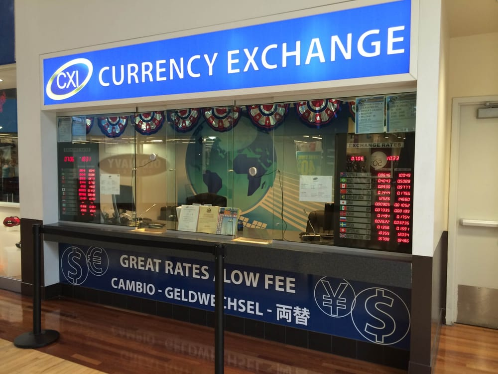 Forex exchange near me