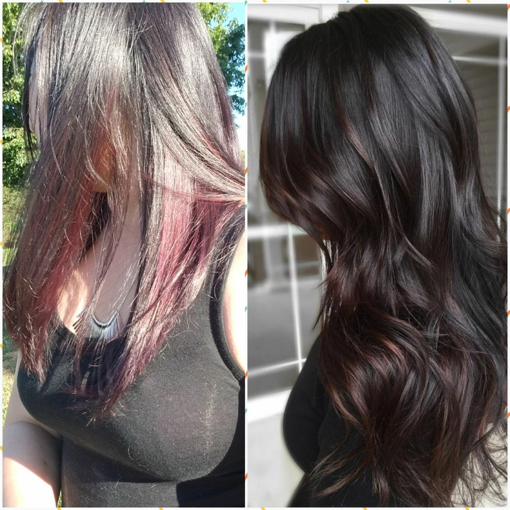 Right Color I Asked For Left Color I Received Not At All Balayage