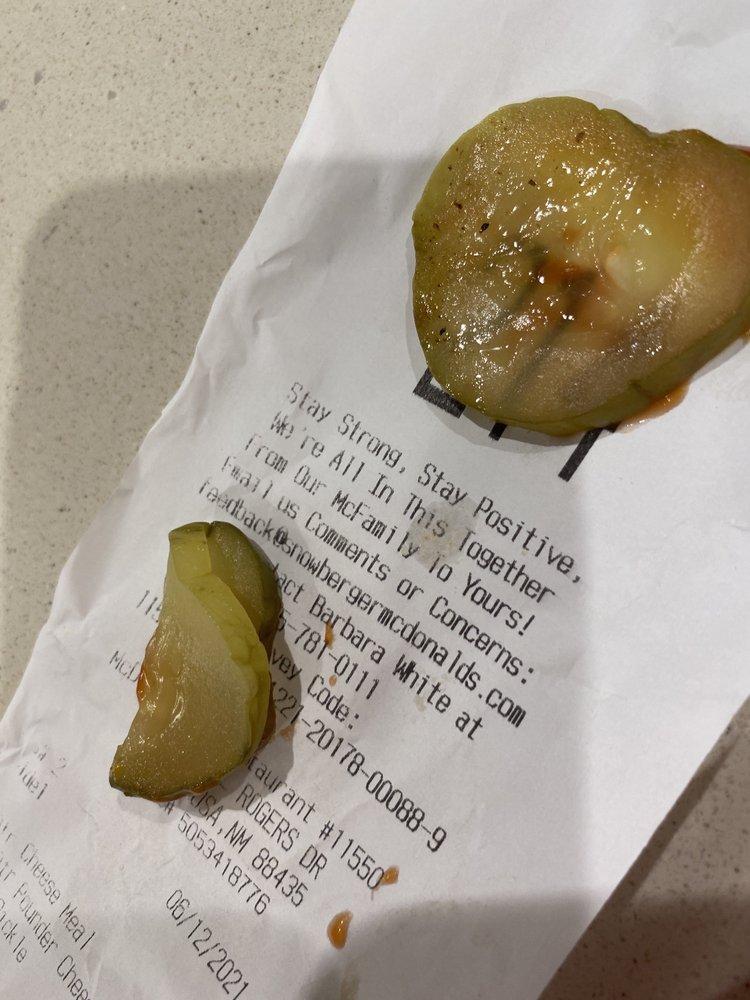 McDonald's: 1504 Will Rogers Dr, Santa Rosa, NM