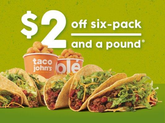 Taco John's: 418 E Iron Ave, Salina, KS