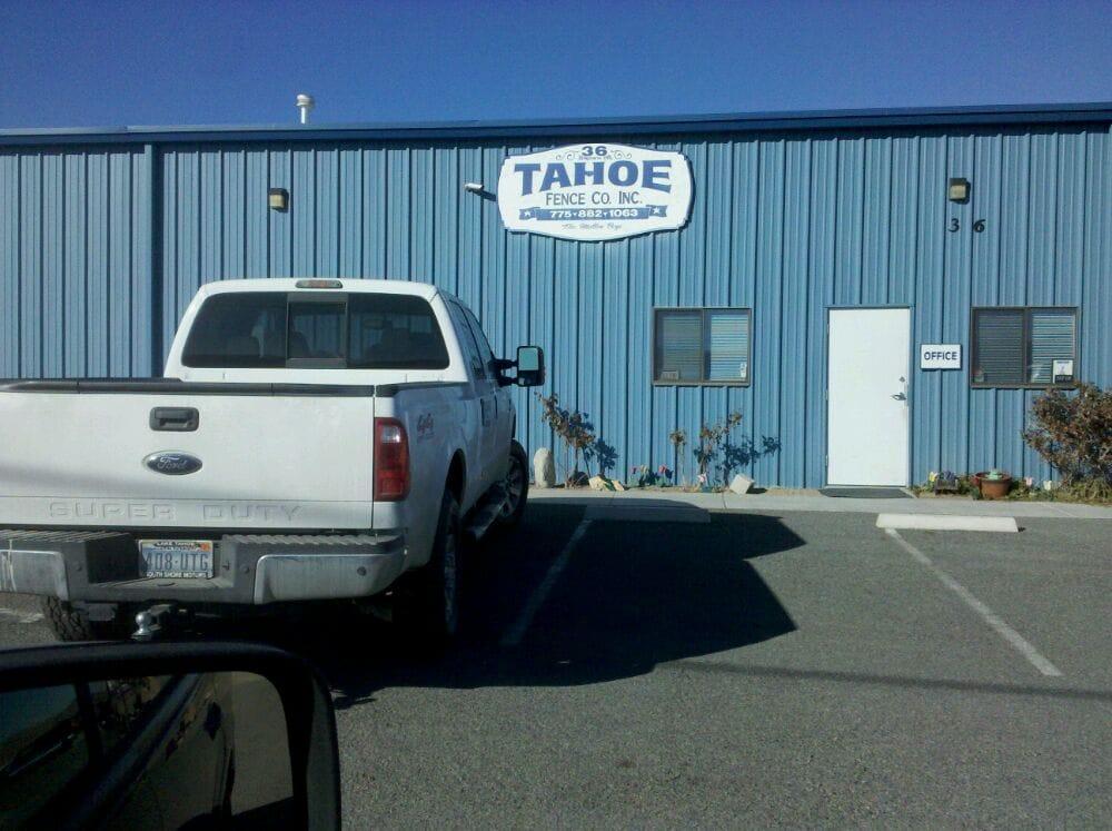 Tahoe Fence Co. Inc
