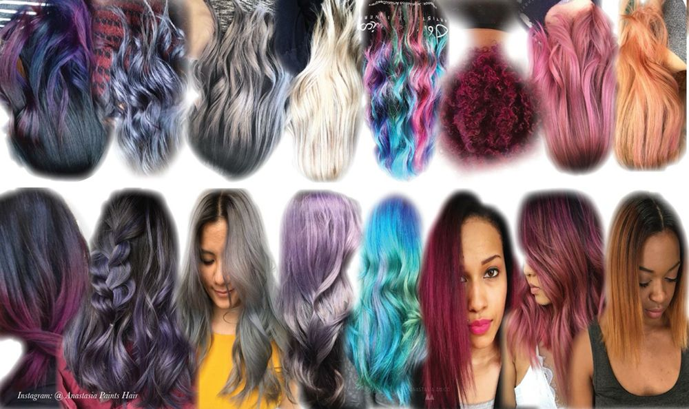 Anastasia Specializes In Hair Painting Balayage Silver And Grey