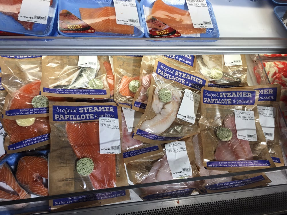 Photo Of Safeway Edmonton Ab Canada New Seafood Steamers Portions