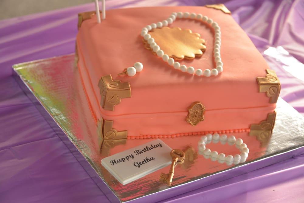 My moms 60th Birthday jewelry box themed cake Yelp