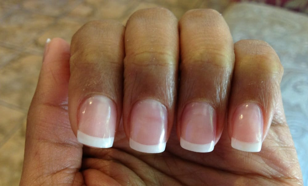 YES that\'s acrylic!!! Sue is amazing at Pink and Whites! - Yelp
