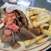 photo of petes kitchen denver co united states gyro sandwich with fries - Petes Kitchen