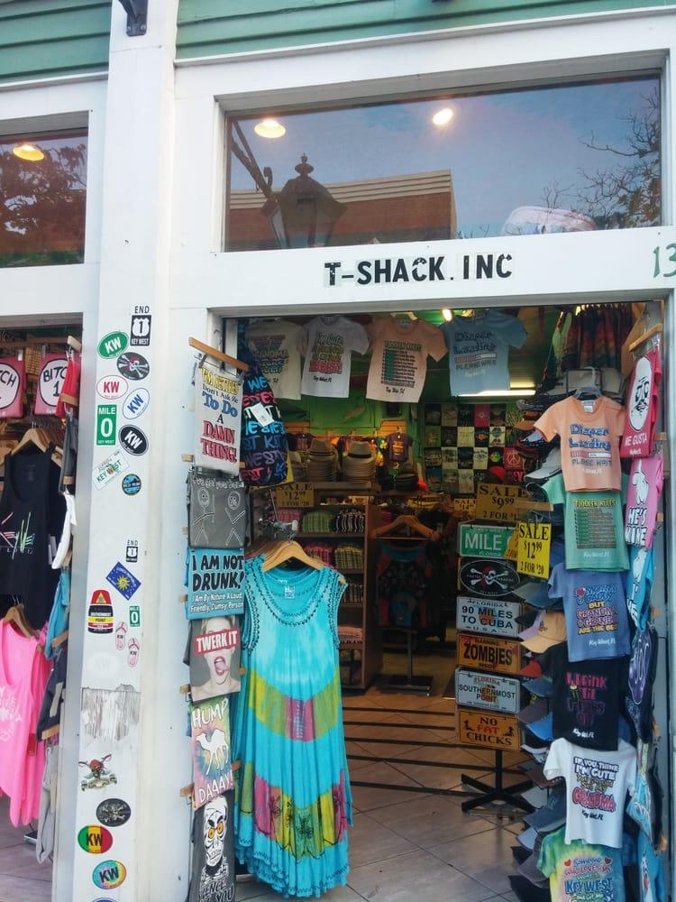 T Shack: 133 Duval St, Key West, FL