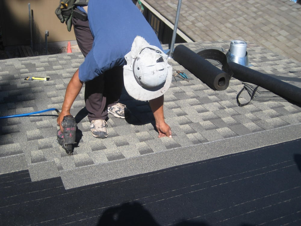 Re Roofing Using Shingles Yelp