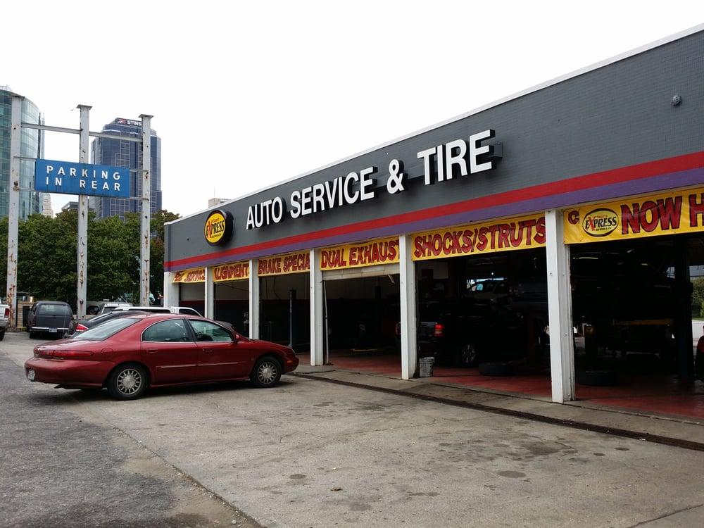 Calvert s express auto service tire 24 reviews for Garage auto express carignan