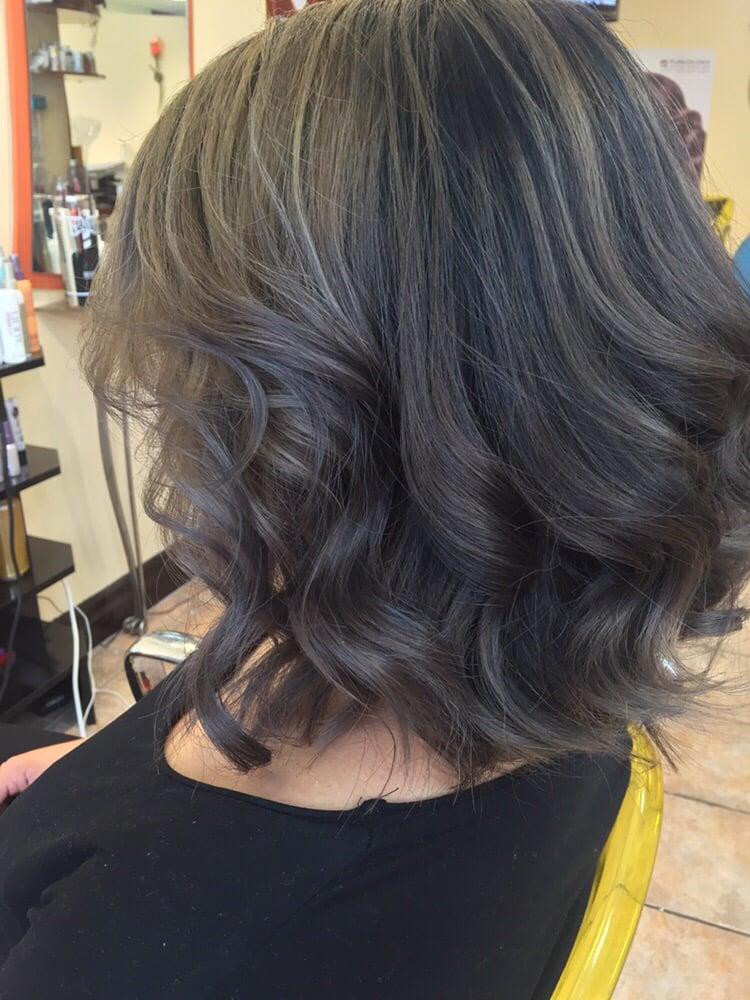 Balayage Short Hair Silver Yelp