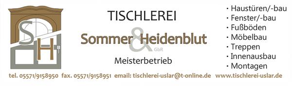 Tischlerei Sommer tischlerei sommer heidenblut carpenters isertorweg 2 uslar