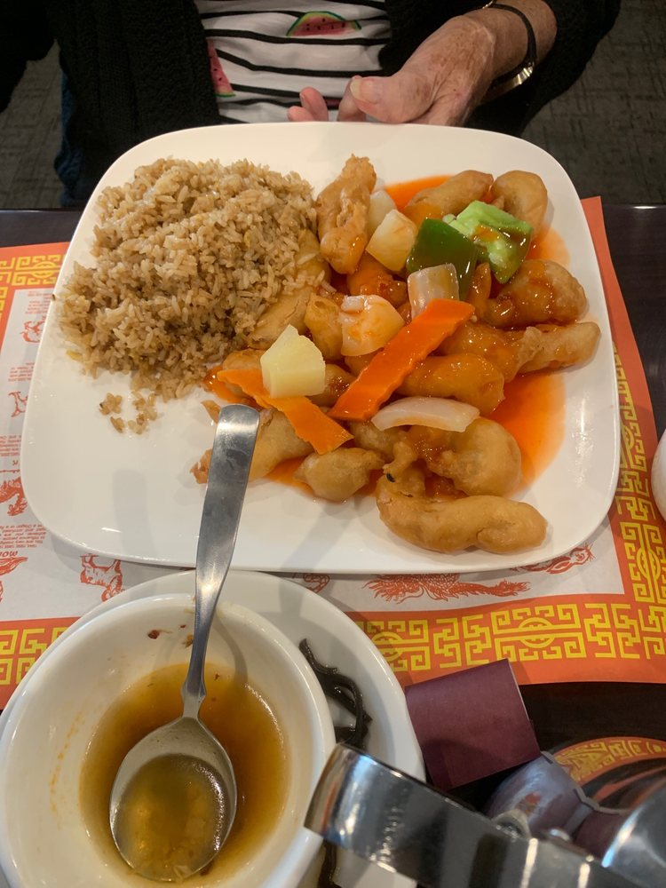 Food from Gourmet Garden Chinese Restaurant