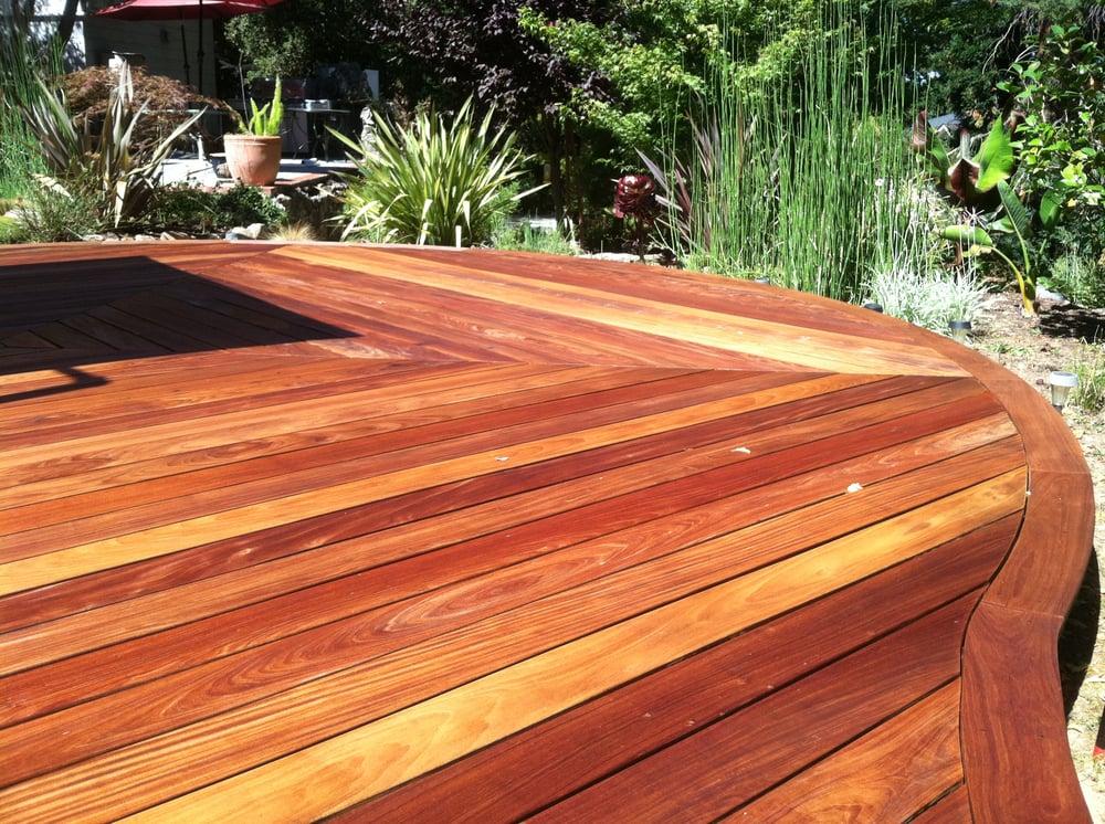 Ipe hardwood deck sealed with cabot australian timer for Australian hardwood decking