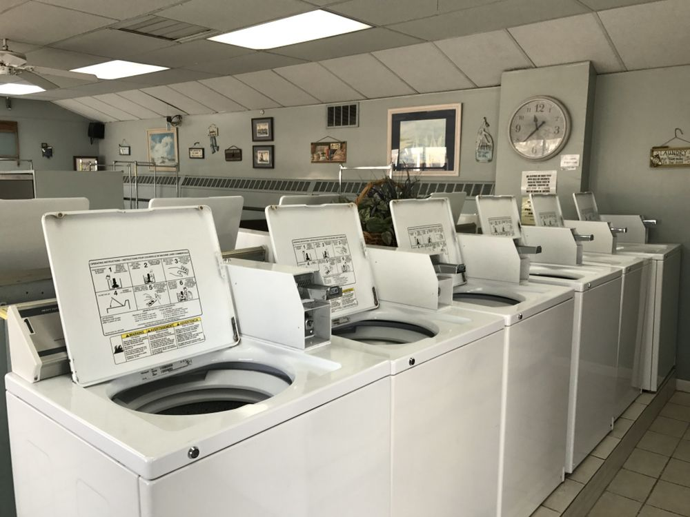Oceanside Laundromat: 50 E Tide Way, Chadwick Beach, NJ