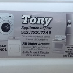 Tony Appliance Repair 27 Photos Amp 195 Reviews