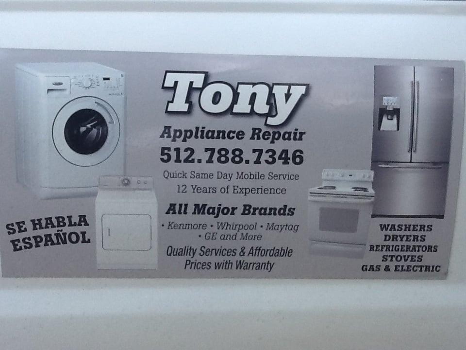 Tony Appliance Repair