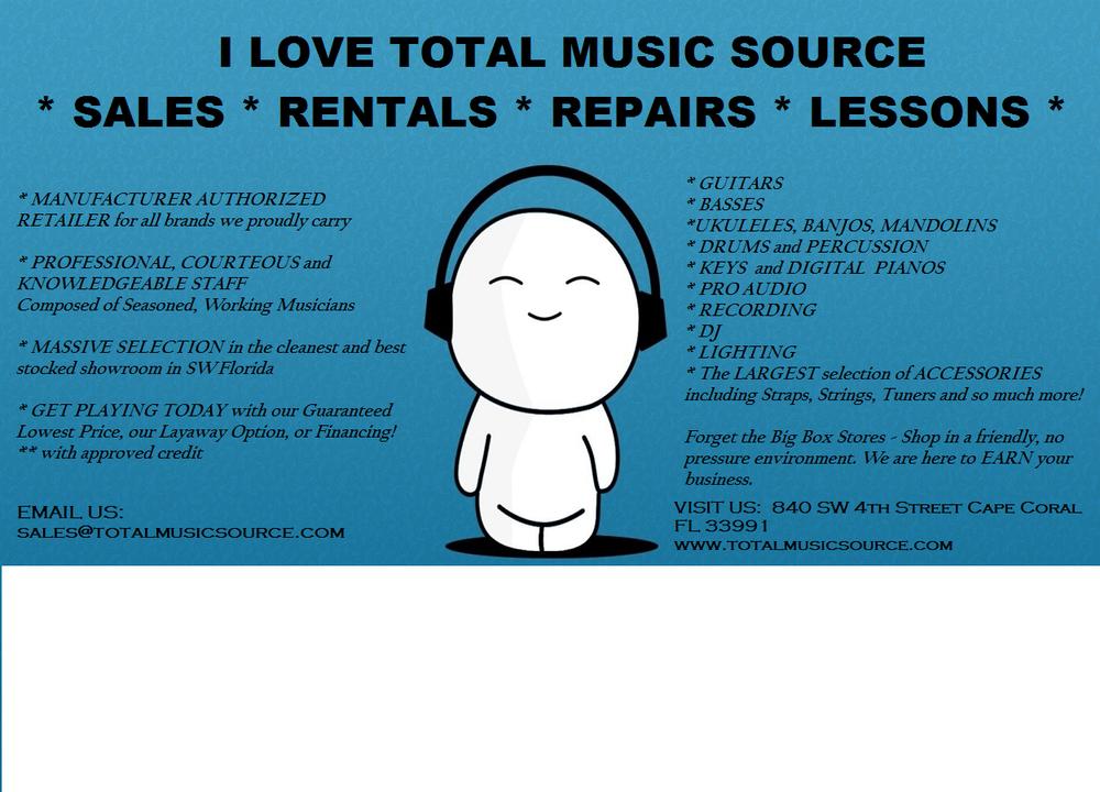 Total Music Source - Guitar Stores - 901 E Industrial Cir