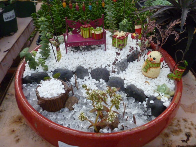 photo of jackalope pottery north hollywood ca united states christmas fairy garden