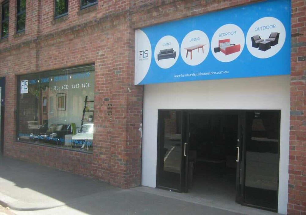 Fls Furniture Liquidation Store Furniture Shops 221 Kerr St Fitzroy Fitzroy Victoria