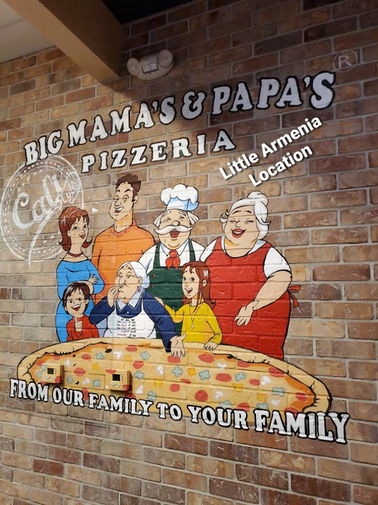 Big Mama's & Papa's Pizzeria - Little Armenia