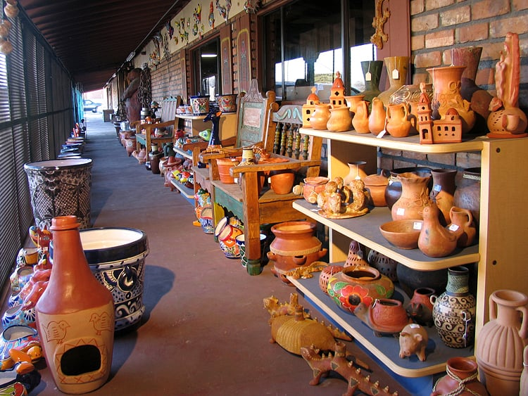 Mexican Garden Pottery Including Terracotta And Talavera.   Yelp