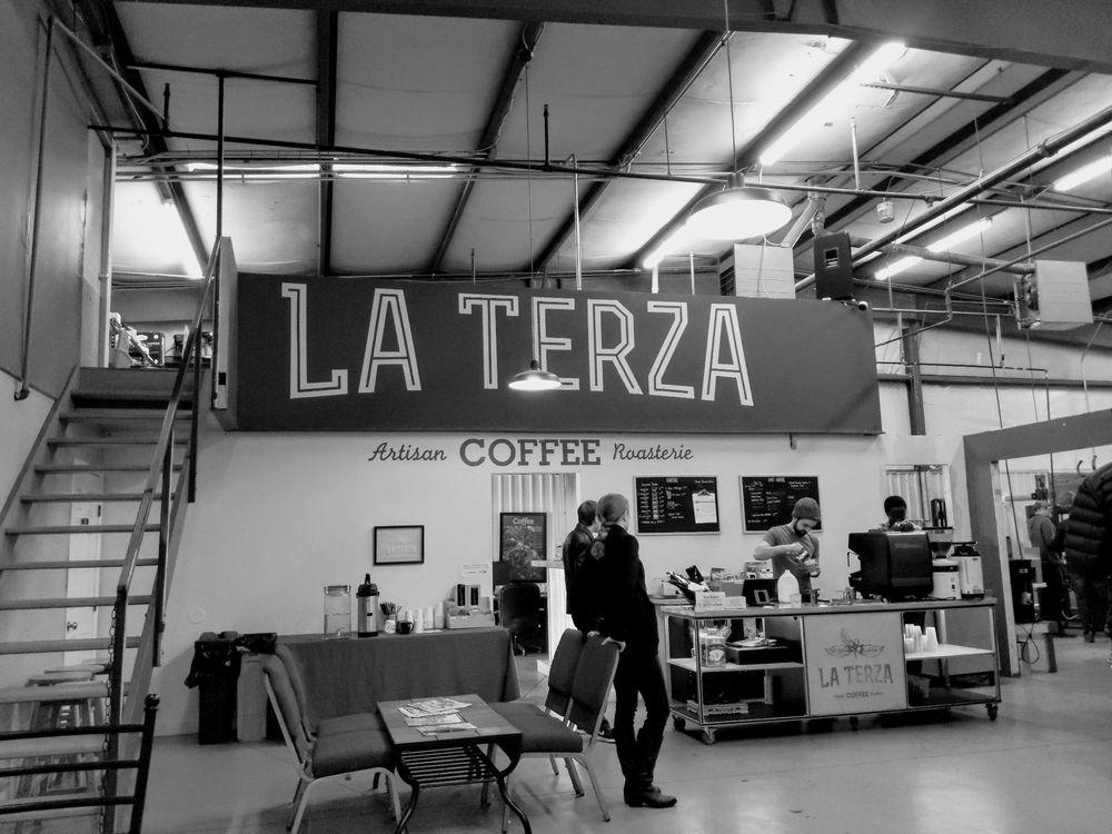La Terza Artisan Coffee Roasterie: 611 Shepherd Dr, Cincinnati, OH