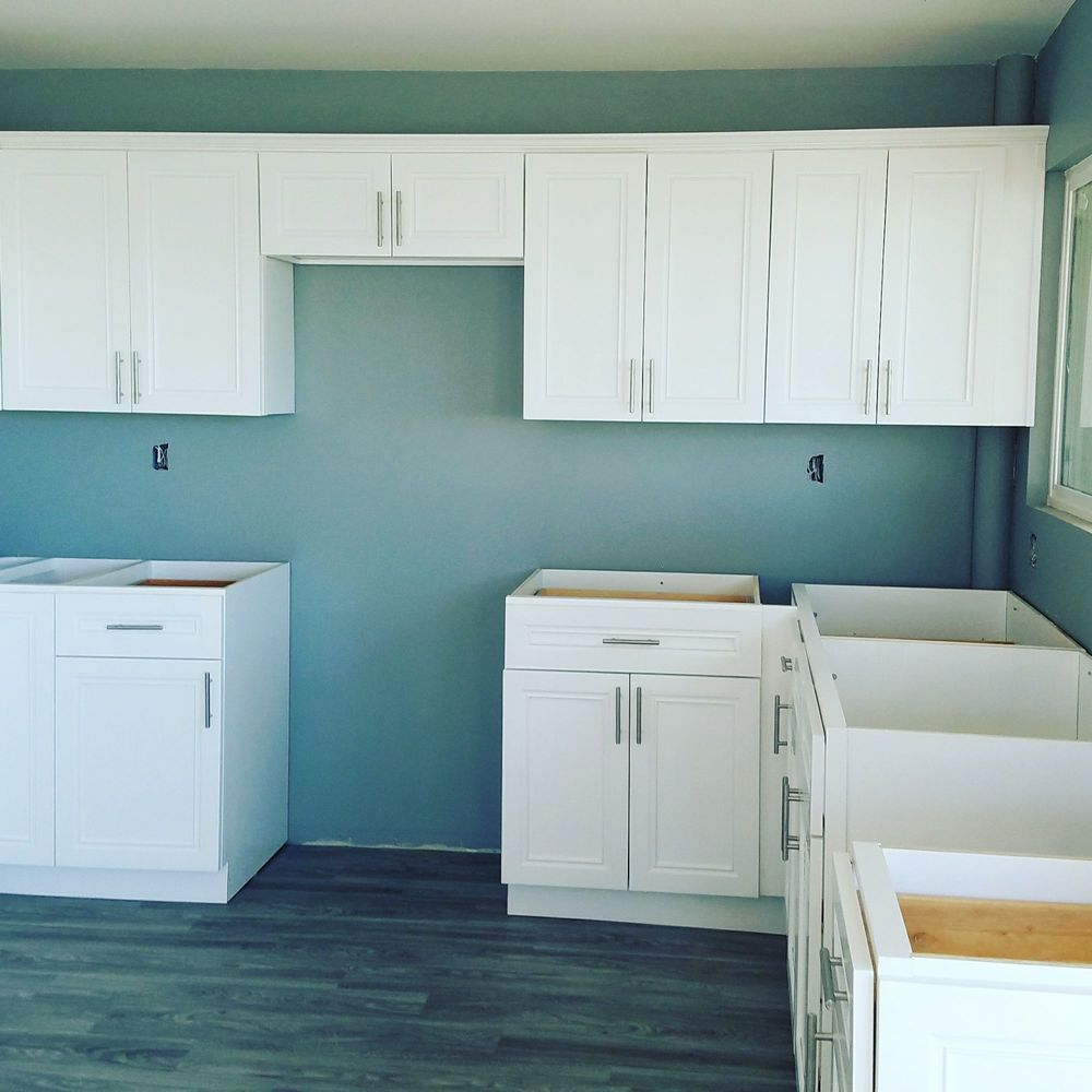 One of the first job I used J&K cabinets. - Yelp