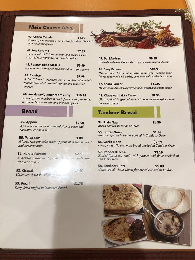 Kovalam Restaurant - (New) 62 Photos & 27 Reviews - Indian