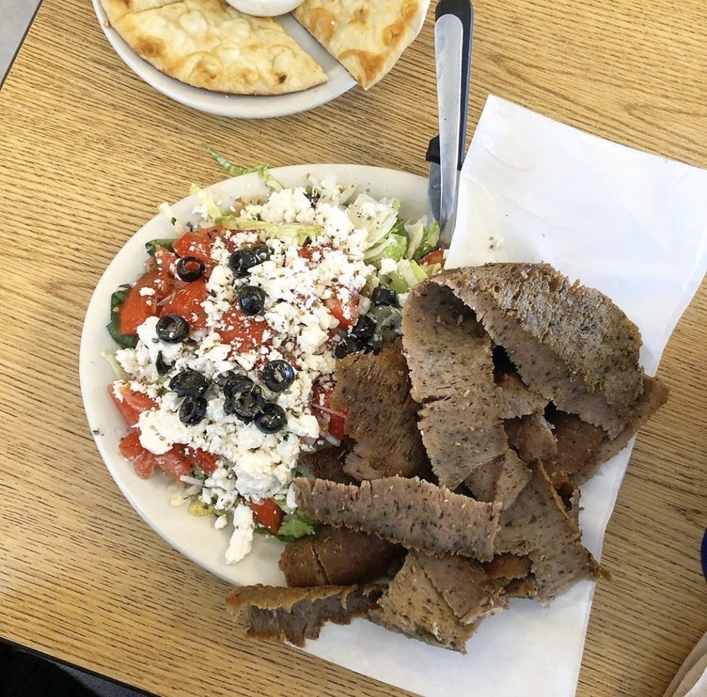Food from Tiffany's Pizza & Deli Coffee Shop