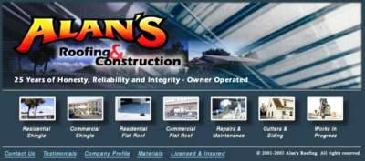 Alan's Roofing & Construction