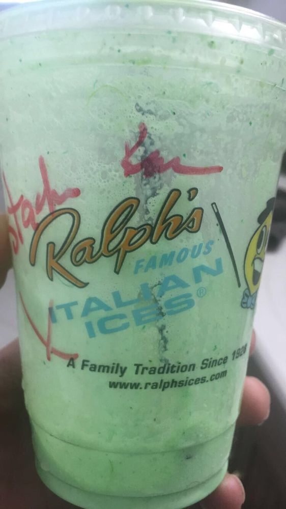 Ralph's Famous Italian Ices: 128 E Main St Rear, Patchogue, NY