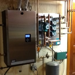 IBC boiler with lifetime warranty on the heat exchanger ...