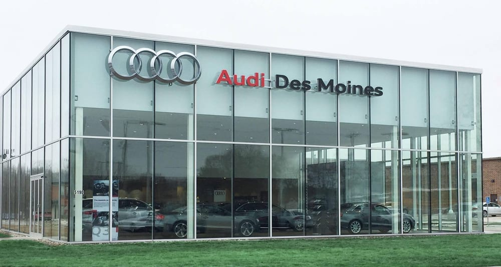 Audi Des Moines Car Dealers 5190 Merle Hay Rd