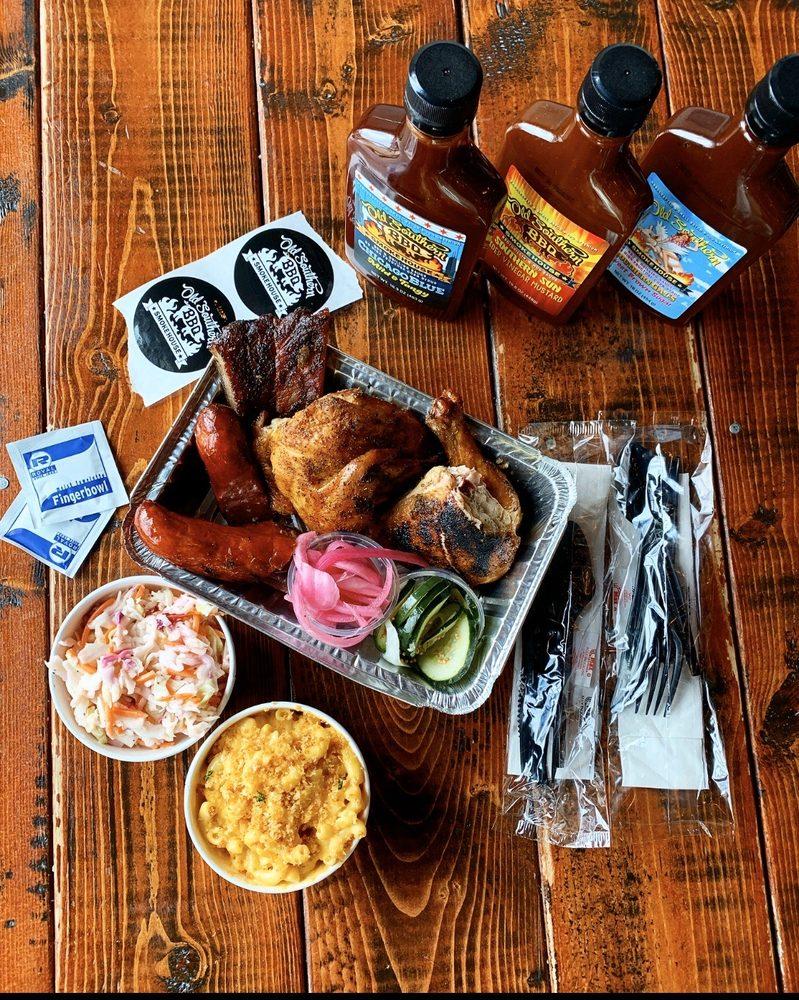 Old Southern BBQ Smokehouse: 2421 Hanley Rd, Hudson, WI