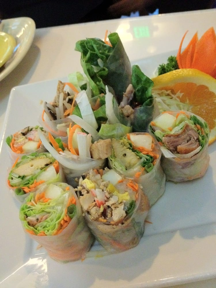 Mixed rolls yelp for Amarin thai cuisine